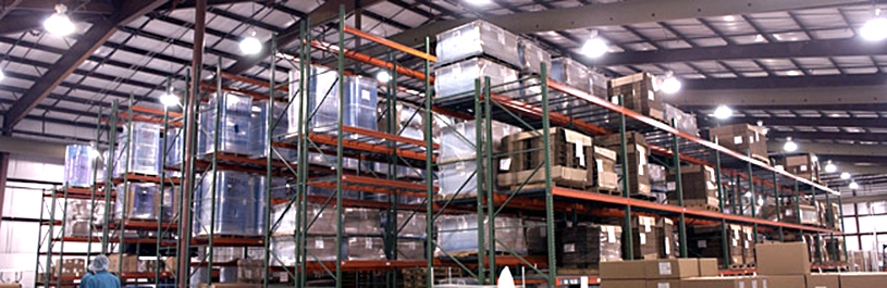 HVO has over 100,000 square feet of material storage and inventory control space.